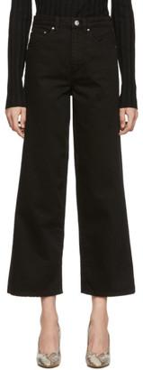 Totême Black Wide Jeans