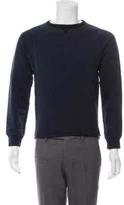 Dries Van Noten Raw-Edge Crew Neck Sweatshirt
