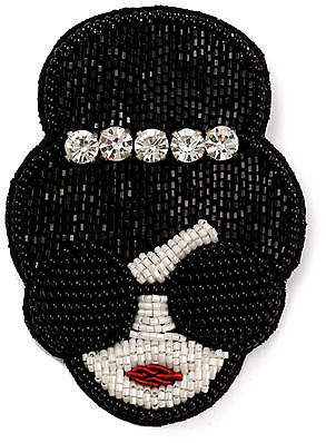 Alice + Olivia (アリス オリビア) - Alice+olivia Stacey Face Crown Brooch