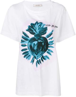 Schumacher Dorothee Flaming Heart T-shirt