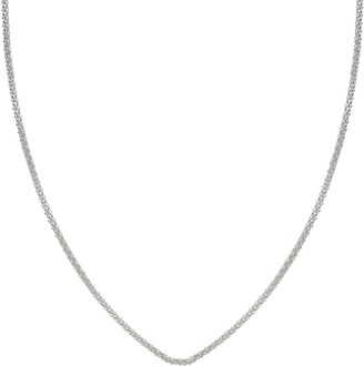 Individuality Beads Sterling Silver Wheat Chain Necklace - 18-in.