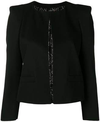 Givenchy boxy cropped jacket