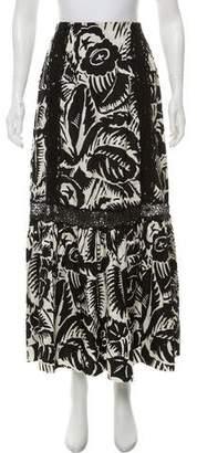 Marc Jacobs Printed Midi Skirt