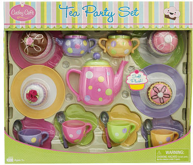 Creative Designs Cushy Cafe Tea Party Set