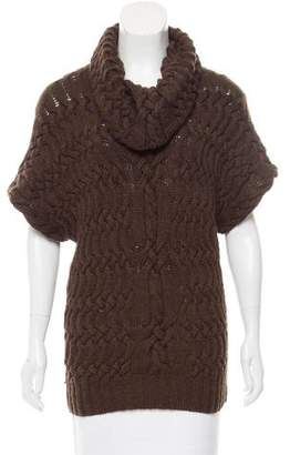 Oscar de la Renta Cashmere Short Sleeve Top w/ Tags