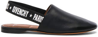 Givenchy Rivington Leather Slingback Flats