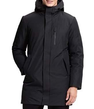 Lumberfield Thick Windstopper Waterproof Long Men's Parkas Jacket for Outdoor Hiking XXXL