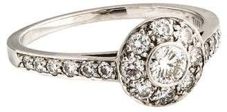Tiffany & Co. Platinum Diamond Cocktail Ring
