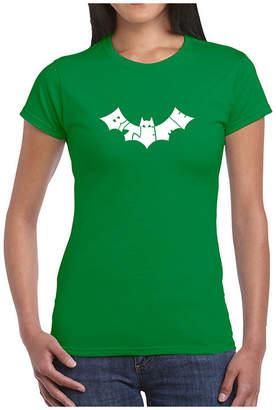 LOS ANGELES POP ART Los Angeles Pop Art Bat - Bite Me Graphic T-Shirt