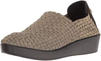 Bernie Mev. Women's Smooth Cha Cha Slip-on Loafer