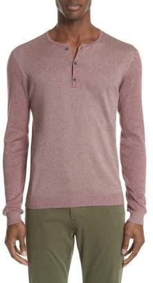 John Varvatos Collection Triblend Henley