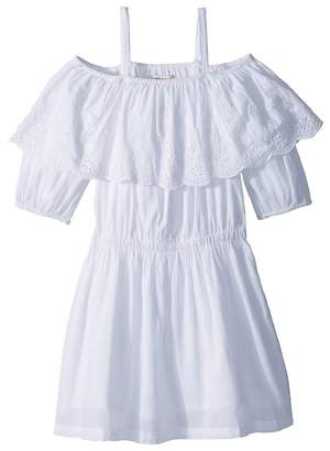 Ella Moss Off-The-Shoulder Peasant Dress Girl's Dress