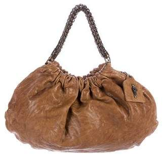 Thomas Wylde Distressed Leather Handle Bag