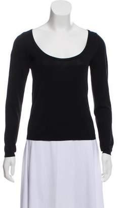 Malo Long Sleeve Knit Sweater