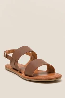 Mia Addison Gladiator Sandal - Cognac
