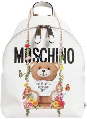 Moschino Teddy Printed Backpack