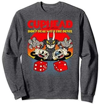 Cuphead And Mugman Devil's Dice Video Game Sweatshirt