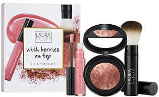 Laura Geller with Berries on Top Lip and CheekKit