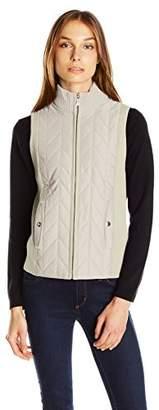 Jones New York Women's Turtleneck Zip Vest $22.47 thestylecure.com