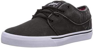 Globe Mahalo, Unisex Adults' Low-Top Sneakers, Black - Schwarz (10873 Black wash), (38 EU)