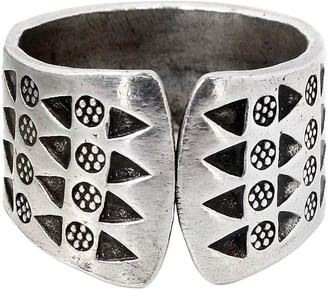 """Novica Artisan Crafted Sterling """"Tribal Wildflowers"""" Ring"""