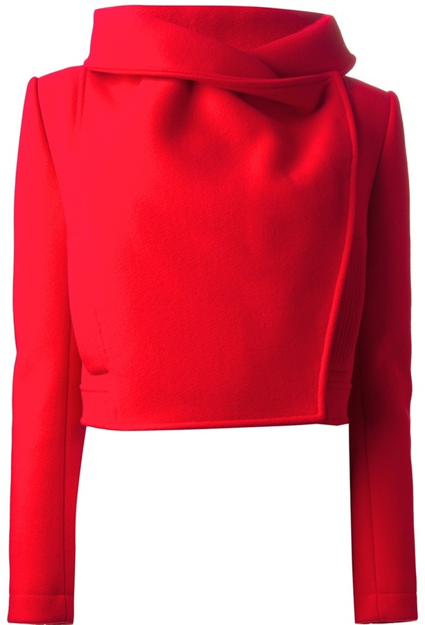 Kenzo cropped funnel neck jacket