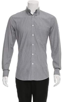 Alexander McQueen Striped Button-Up Shirt