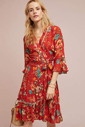 Anthropologie Farm Rio for Farm Rio Kenzie Wrap Dress