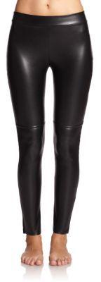 Wolford Estella Faux-Leather Leggings $395 thestylecure.com
