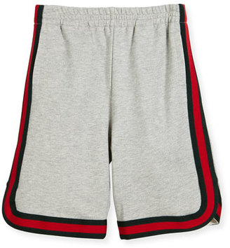 Gucci Felted Jersey Shorts, Multicolor, Size 4-12 $240 thestylecure.com