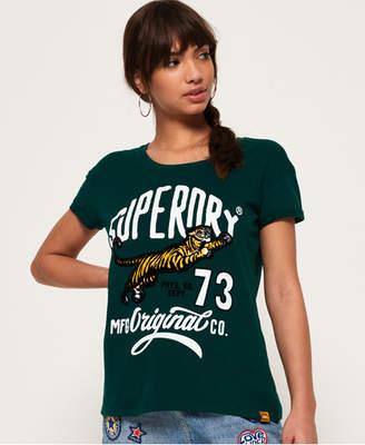Superdry Tiger Days Boyfriend T-Shirt