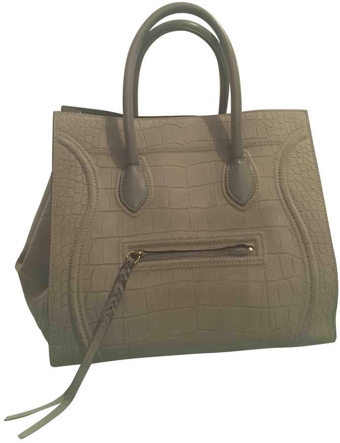 Luggage Phantom leather tote