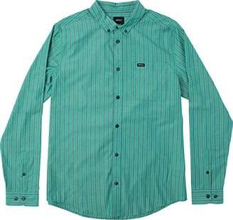 RVCA Men's Everyday Long Sleeve Woven Shirt