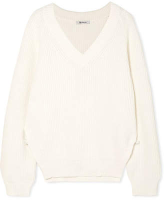 Cotton-blend Sweater - Off-white