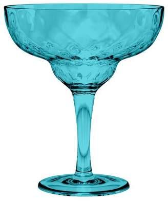 Azura Tarhong Margarita Glass Aqua, 18.5 oz.