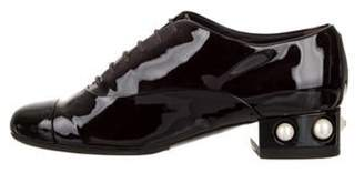 Chanel Pearl Cap-Toe Oxfords Pearl Cap-Toe Oxfords
