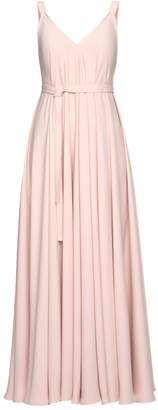 UNDRESS - Notabilia Pastel Pink Extremely Flared Occasion Wedding Maxi Dress