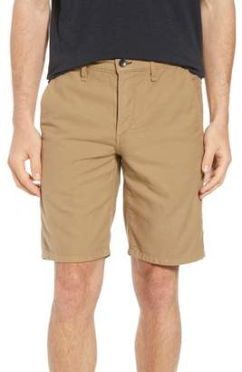 Rag & Bone Straight Leg Chino Shorts