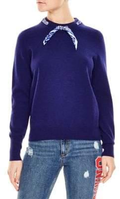 Sandro Lucke Wool& Cashmere Sweater
