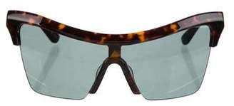 Cat Eye Hadid Oversize Cat-Eye Sunglasses