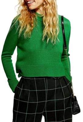 Topshop Ottoman Cropped Sweater