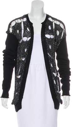 Rodarte Open Knit Chain Cardigan
