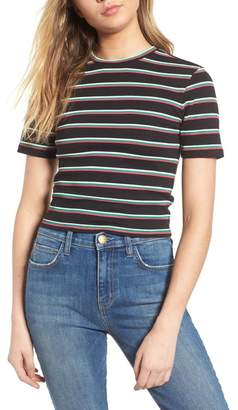 BP Stripe Crop Tee (Regular & Plus Size)