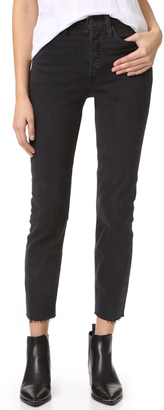 Levi's Wedgie Icon Jeans $98 thestylecure.com