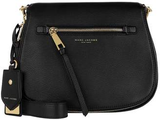 Marc Jacobs Recruit Saddle Bag Leather Black