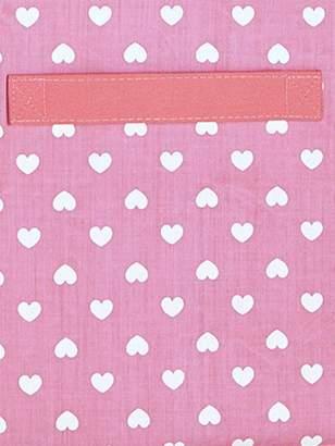 Large Fabric Storage Box - grey/star