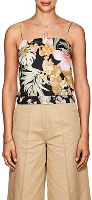 Barneys New York Women's Tropical-Floral Silk Cami