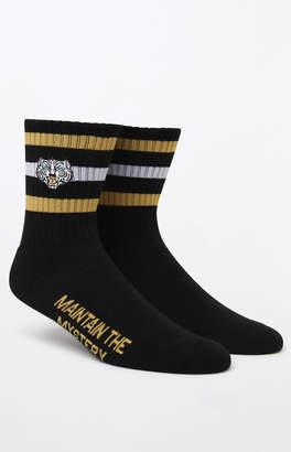 The Hundreds Tiger Crew Socks