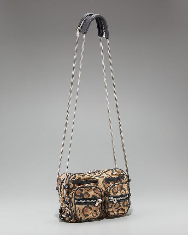 Alexander Wang Brenda Leopard-Print Bag