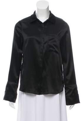 Cinq à Sept Silk Button Up Shirt w/ Tags